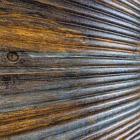 Самоклеюча декоративна 3D панель бамбук корчиневый з сірим 700x700x9 мм (самоклейка, М'які 3D Панелі)