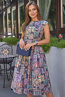 Летнее женское  платье цвет: черный, размер: S, M, L, XL