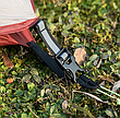 Двухслойная, сверхлегкая, 3-х местная палатка с алюминиевыми дугами и силиконовым тентом, зеленая,, фото 3