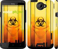 """Чехол на HTC One X+ biohazard 23 """"4840c-69-2448"""""""