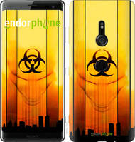 "Чехол на Sony Xperia XZ3 H9436 biohazard 23 ""4840u-1540-2448"""