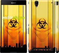 "Чехол на Sony Xperia T2 Ultra Dual D5322 biohazard 23 ""4840c-92-2448"""