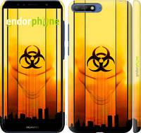 "Чехол на Huawei Y6 2018 biohazard 23 ""4840c-1637-2448"""