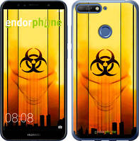 "Чехол на Huawei Y6 Prime 2018 biohazard 23 ""4840c-1441-2448"""