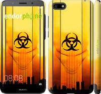 "Чехол на Huawei Y5 2018 biohazard 23 ""4840c-1500-2448"""