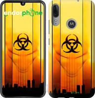"""Чехол на Motorola Moto E6 Plus biohazard 23 """"4840u-1780-2448"""""""