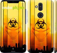 """Чехол на Nokia 8.1 biohazard 23 """"4840c-1620-2448"""""""
