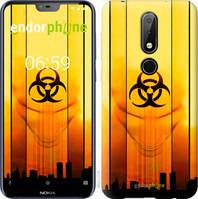 "Чехол на Nokia 6.1 Plus biohazard 23 ""4840u-1539-2448"""