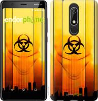 """Чехол на Nokia 5.1 biohazard 23 """"4840u-1529-2448"""""""