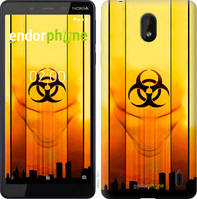 "Чехол на Nokia 1 Plus biohazard 23 ""4840u-1677-2448"""