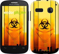 "Чехол на Alcatel One Touch Pop C3 4033D biohazard 23 ""4840u-323-2448"""