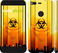 """Чехол на Google Pixel biohazard 23 """"4840c-400-2448"""""""