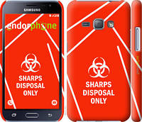 "Чехол на Samsung Galaxy J1 (2016) Duos J120H biohazard 27 ""4843c-262-2448"""