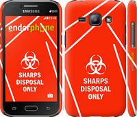 "Чехол на Samsung Galaxy J1 J100H biohazard 27 ""4843c-104-2448"""