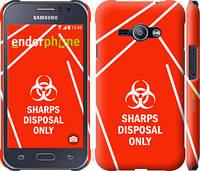 "Чехол на Samsung Galaxy J1 Ace J110H biohazard 27 ""4843c-215-2448"""