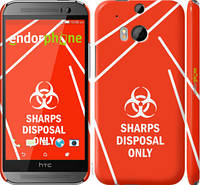 """Чехол на HTC One M8 biohazard 27 """"4843c-30-2448"""""""