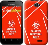 "Чехол на Lenovo A66 biohazard 27 ""4843u-290-2448"""