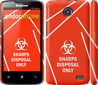 "Чехол на Lenovo A820 biohazard 27 ""4843c-68-2448"""