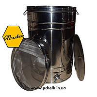 Бак-отстойник для меда в комплекте с фильтром 150 л (200 кг) (кран алюминиевый)