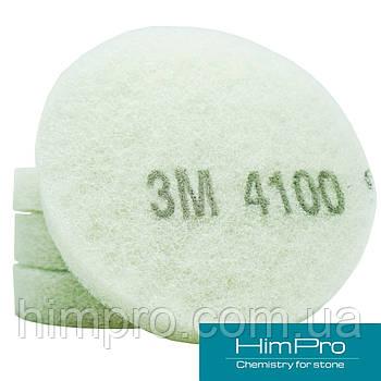 Пад полировальный 3М белый 4100 d150мм для кристаллизации