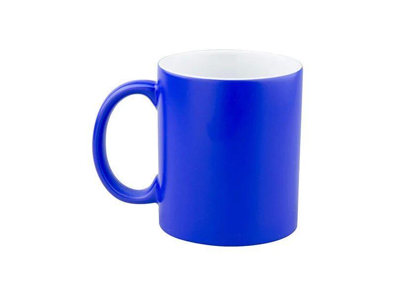 Чашка для сублимации хамелеон ГЛЯНЕЦ (голубой)