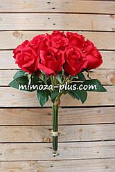 Искусственные цветы - Роза пучок
