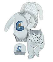Комплект на выписку в роддом для новорожденного Люкс 56 размер