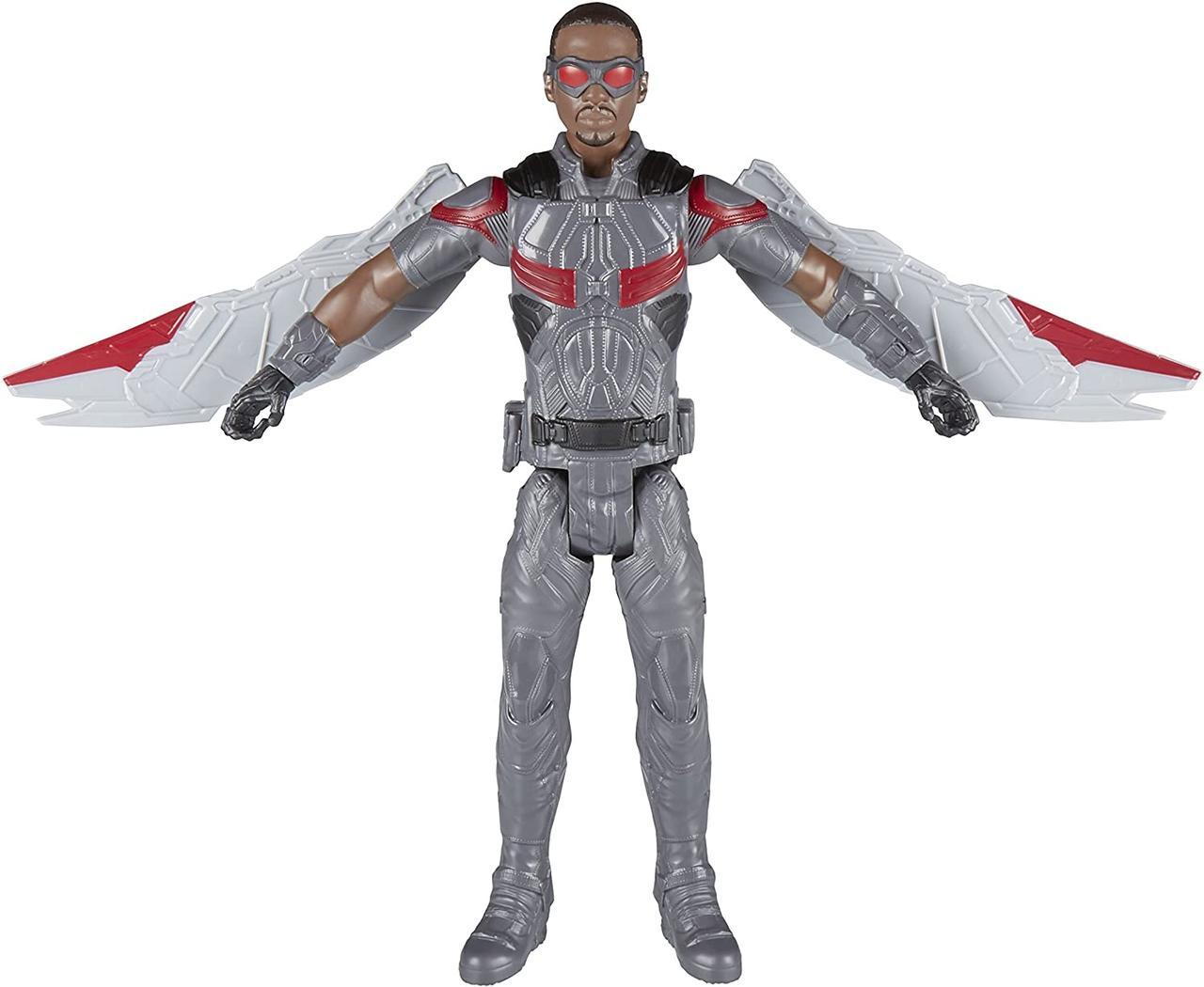 Игрушка-фигурка Hasbro, Сокол, Марвел, 30 см - Falcon, Marvel, Titan Hero Series