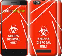 """Чехол на Lenovo Vibe C A2020 biohazard 27 """"4843c-283-2448"""""""