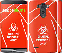 """Чехол на LG G3 D855 biohazard 27 """"4843c-47-2448"""""""