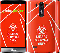 "Чехол на LG G3s D724 biohazard 27 ""4843c-93-2448"""