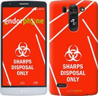 """Чехол на LG G4 Stylus H540 biohazard 27 """"4843u-242-2448"""""""