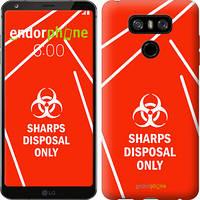 "Чехол на LG G6 biohazard 27 ""4843c-836-2448"""