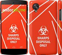 """Чехол на LG Nexus 5 biohazard 27 """"4843c-57-2448"""""""