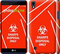 "Чехол на LG X Power K220DS biohazard 27 ""4843c-398-2448"""