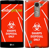 "Чехол на LG Spirit Dual H422 biohazard 27 ""4843u-245-2448"""