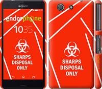 """Чехол на Sony Xperia Z3 Compact D5803 biohazard 27 """"4843c-277-2448"""""""
