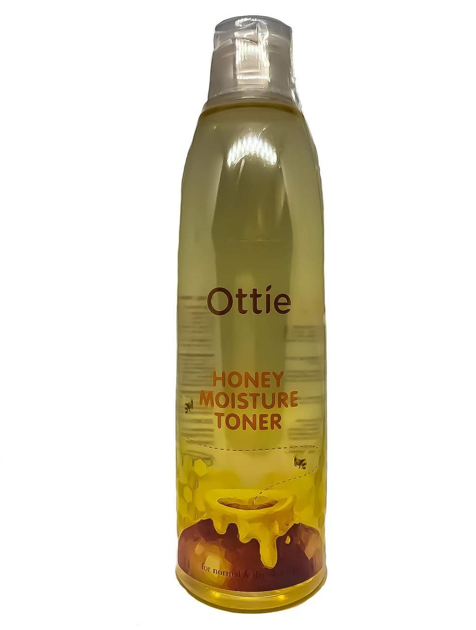 Увлажняющий тонер для лица с экстрактом меда Ottie Honey Moisture toner