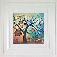 Самоклеящаяся картина дерево 700x700x7 мм (самоклеящийся рисунок)