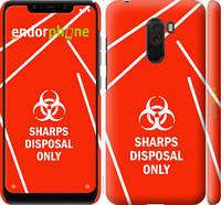 "Чехол на Xiaomi Pocophone F1 biohazard 27 ""4843c-1556-2448"""