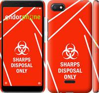 "Чехол на Xiaomi Redmi 6A biohazard 27 ""4843c-1531-2448"""