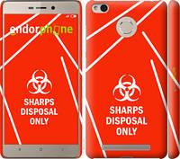 "Чехол на Xiaomi Redmi 3s biohazard 27 ""4843c-357-2448"""
