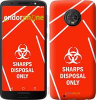 "Чехол на Motorola Moto G6 biohazard 27 ""4843u-982-2448"""