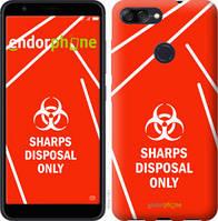 "Чехол на Asus ZenFone Max Plus M1 ZB570TL biohazard 27 ""4843u-1361-2448"""