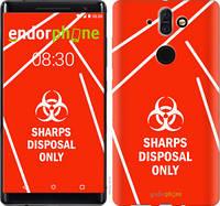 "Чехол на Nokia 8 Sirocco biohazard 27 ""4843u-1619-2448"""