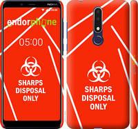 """Чехол на Nokia 3.1 Plus biohazard 27 """"4843c-1607-2448"""""""