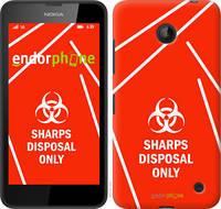 "Чехол на Nokia Lumia 630 biohazard 27 ""4843u-365-2448"""