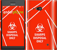 "Чехол на Nokia Lumia 730 biohazard 27 ""4843c-204-2448"""