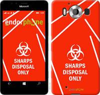 "Чехол на Microsoft Lumia 950 Dual Sim biohazard 27 ""4843u-294-2448"""