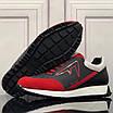 Черно-красные кроссовки Fendi, фото 6